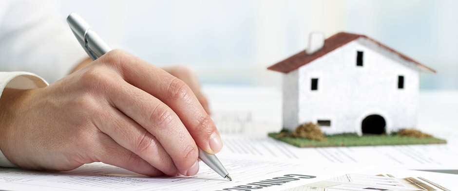 Signing to buy a new home